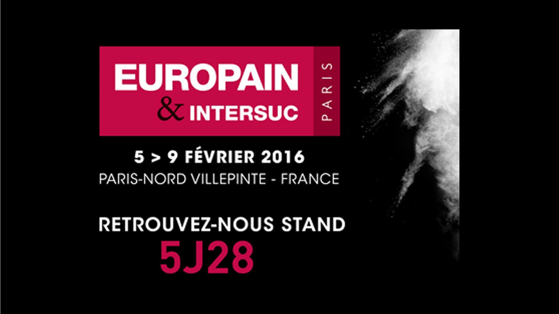 Salon europain 2016 paris hydroprocess for Salon bio paris 2016
